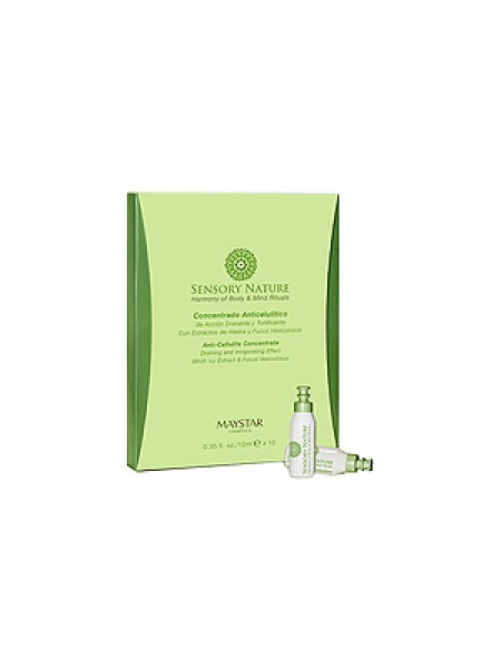 MayStar Концентрат антицеллюлитный дренирующий (Sensory Nature | Anti-Cellulite Concentrate) 3050515002 10*10 мл