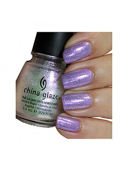 China Glaze Мерцающее верхнее покрытие (Nail Lacquer Happy HoliGlaze / Holiday Travels) 81400 9,6 мл